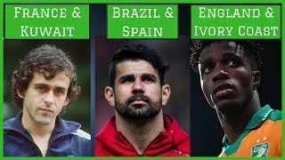 7 Footballers Who've Represented Two Countries