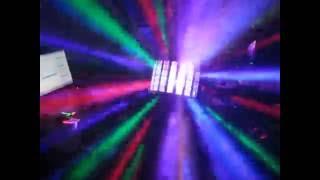 Светомузыка LED DERBY с пультом управления светодиоды 9х3ватта