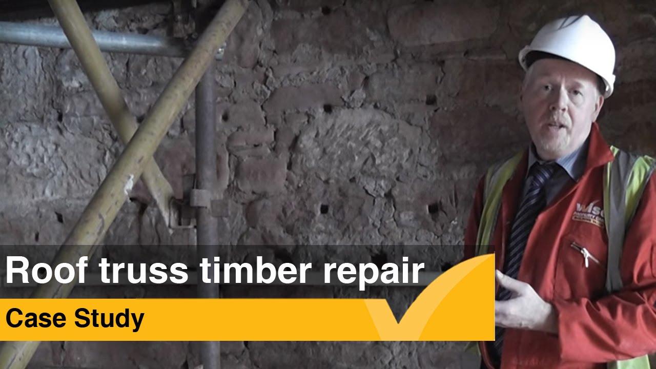 Case Study: Roof Truss Timber Repair