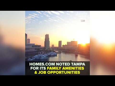 Tampa rated one of the best American cities to raise a family   Taste and See Tampa Bay