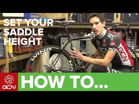How To Set Your Saddle Height - Tips For Getting Your Saddle