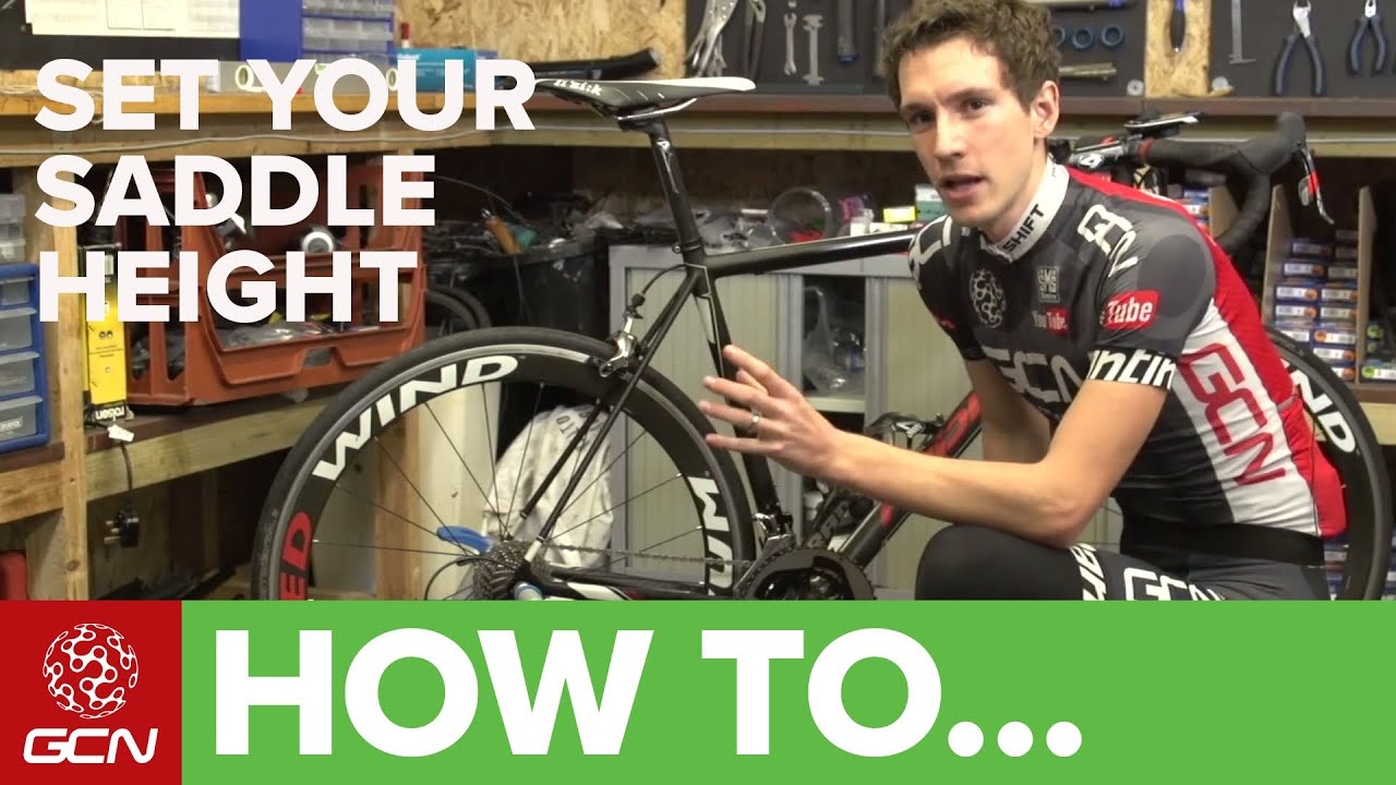 How To Set Your Saddle Height Tips For Getting Your