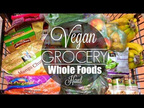VEGAN GROCERY HAUL ☀︎ Whole Foods