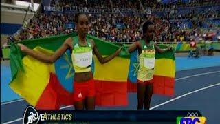 Ethiopian Almaz Ayana Rio Olympics 2016 , 10,000 meters WORLD RECORD