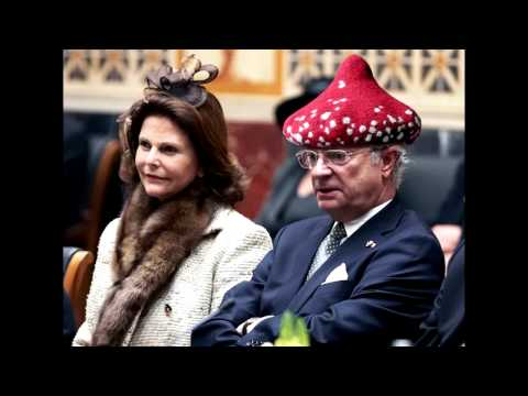 Why is the Swedish King wearing such silly hats?