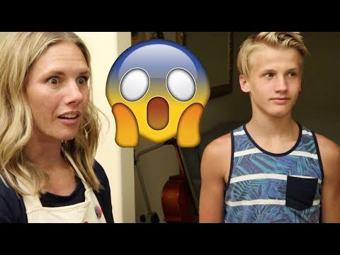 😱Returning Chad to his Mother!