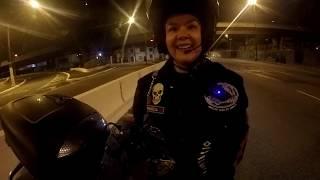 Queda de Moto filmado pela própria GOPRO