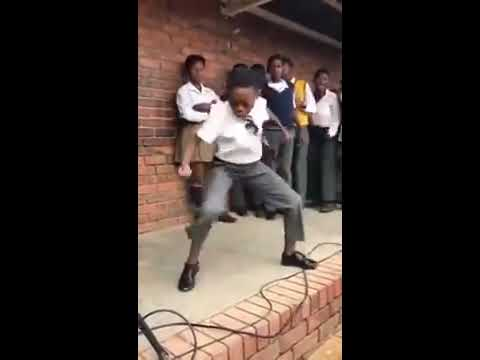 SA School Kids showing their Dance Moves