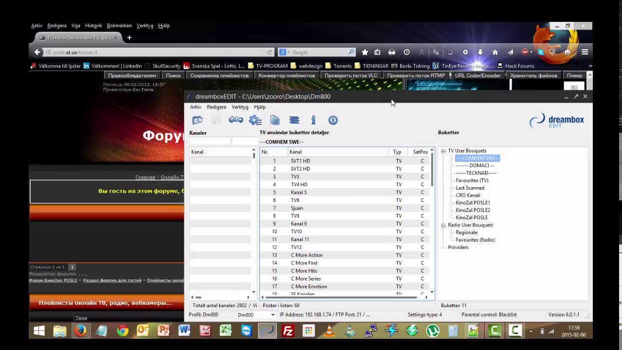 Convert Iptv List To Enigma2 Or Smart Tv Youtube