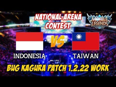 BUG Kagura Masih Bisa di Patch Terbaru 1.2.22 Indonesia vs Taiwan National Arena Contest 17102017