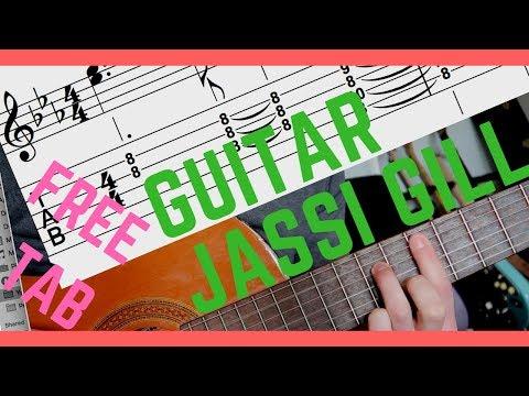 Guitar Lesson: Guitar Sikhda–Jassi Gill, Tutorial (2018)