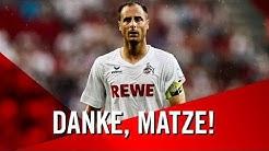 ❤⚪ Danke, Matze! | Abschied von Matthias Lehmann | 1. FC Köln