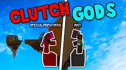 Two clutch gods take over bedwars (Ft. RKY)