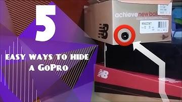5 ways to hide a GoPro!