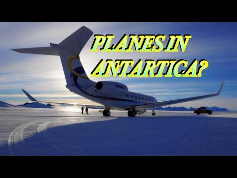 8 COMMERCIAL AIRLINES THAT OPERATES TO ANTARCTICA
