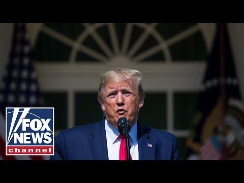 Trump delivers remarks