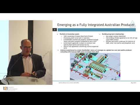 Presentation: Arafura Resources - 121 Mining Investment Singapore 2019 Spring