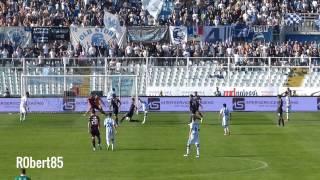 Pescara 1-0 Cagliari gol di Lapadula 3-10-2015 Video