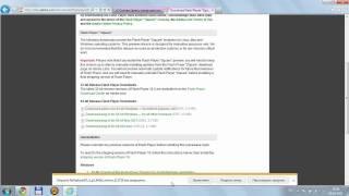 Установка Flash Player для Internet Explorer 9 (64-bit Windows)