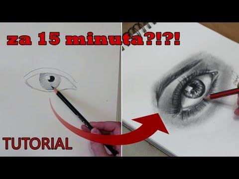 Kako nacrtati oko - TUTORIAL