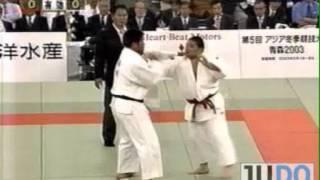 JUDO 2001 All Japan: Yasuyuki Muneta 棟田 康幸 (JPN) - Shinichi Shinohara 篠原 信(JPN)