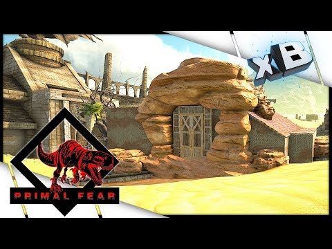 New Base Place! :: Modded ARK: Scorched...