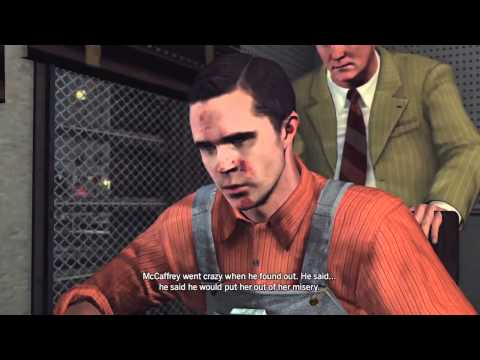 LA Noire: The Studio Secretary Murder 5 STAR Walkthrough Case 5 Part 2 [The Homicide Cases]