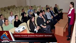 ETSO'da, 'Kadına Yönelik Şiddetle Mücadele' semineri #ArasTV