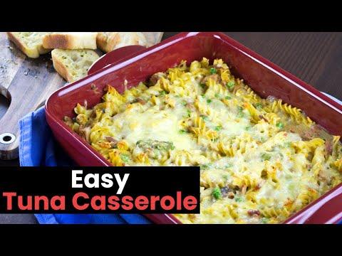 A Dead Easy Tuna Casserole Recipe