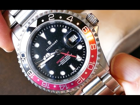 Super Watch - Steinhart Ocean 1 GMT in 4k UHD