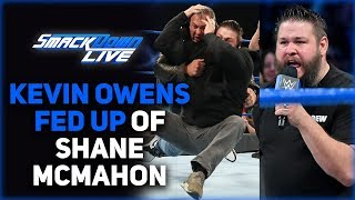 Kevin Owens FED UP of Shane McMahon | WWE Smackdown 9 July 2019 Results & Highlights