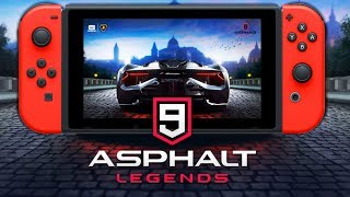 The TRUTH about ASPHALT 9 LEGENDS On Nintendo Switch!
