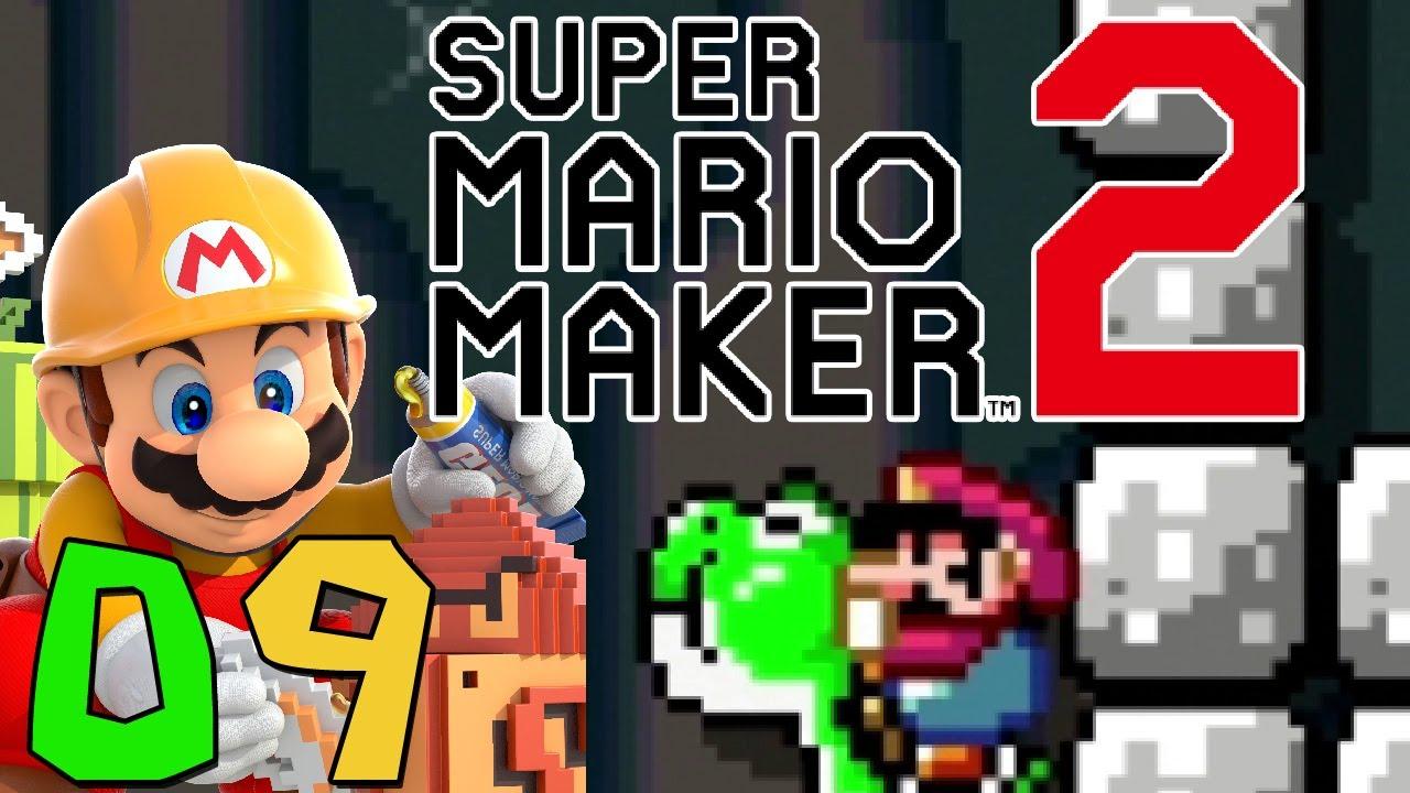 Let\'s Play Super Mario Maker 2 [9] - Mit Stein unterwegs