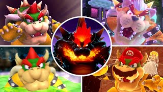 All Final Bosses in 3D Super Mario Games (1996-2021)