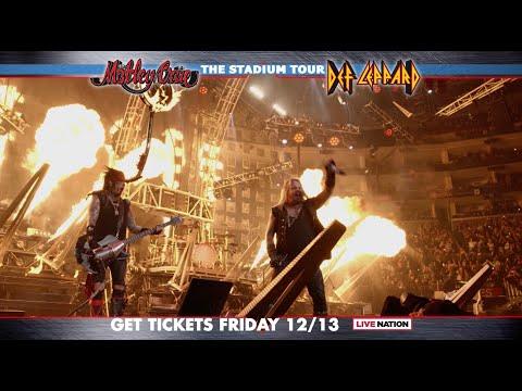 Mötley Crüe - The Stadium Tour 2020