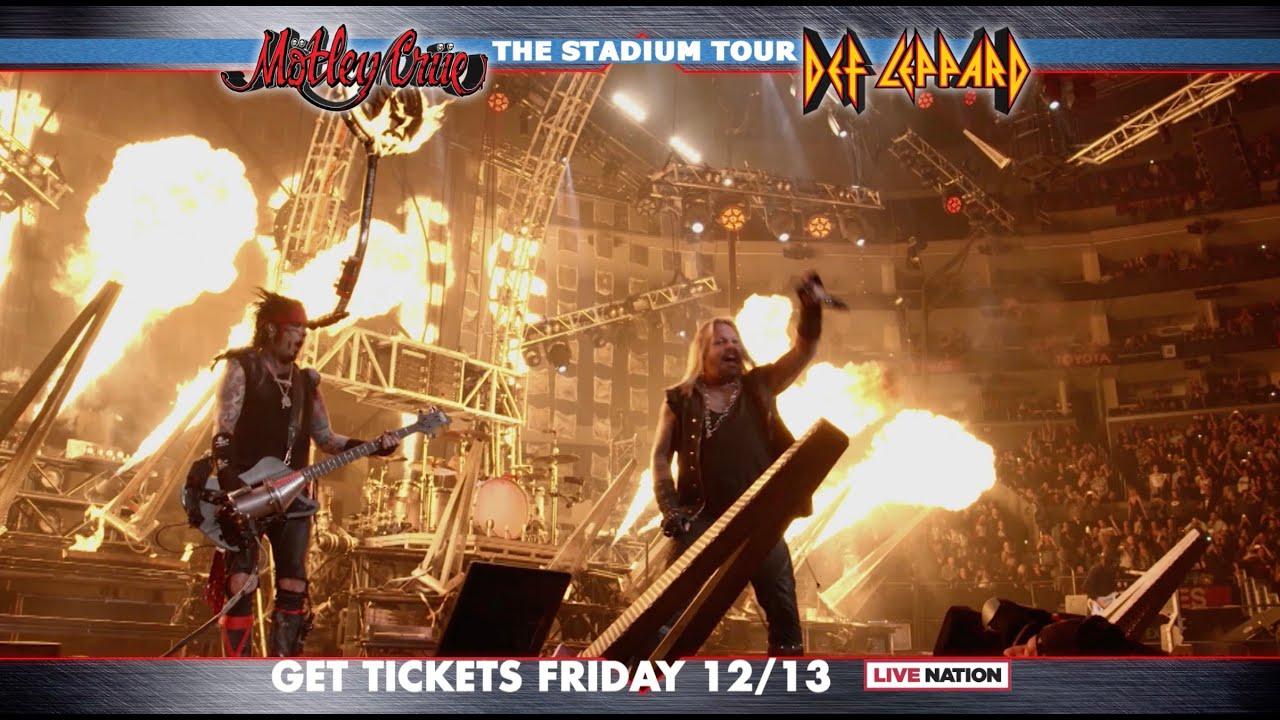 Slayer Tour 2020.Motley Crue The Stadium Tour 2020