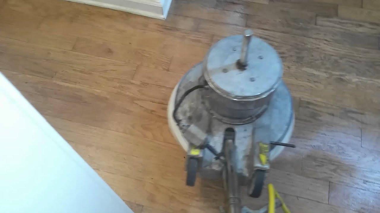 Hardwood Floor Wax Removal Youtube