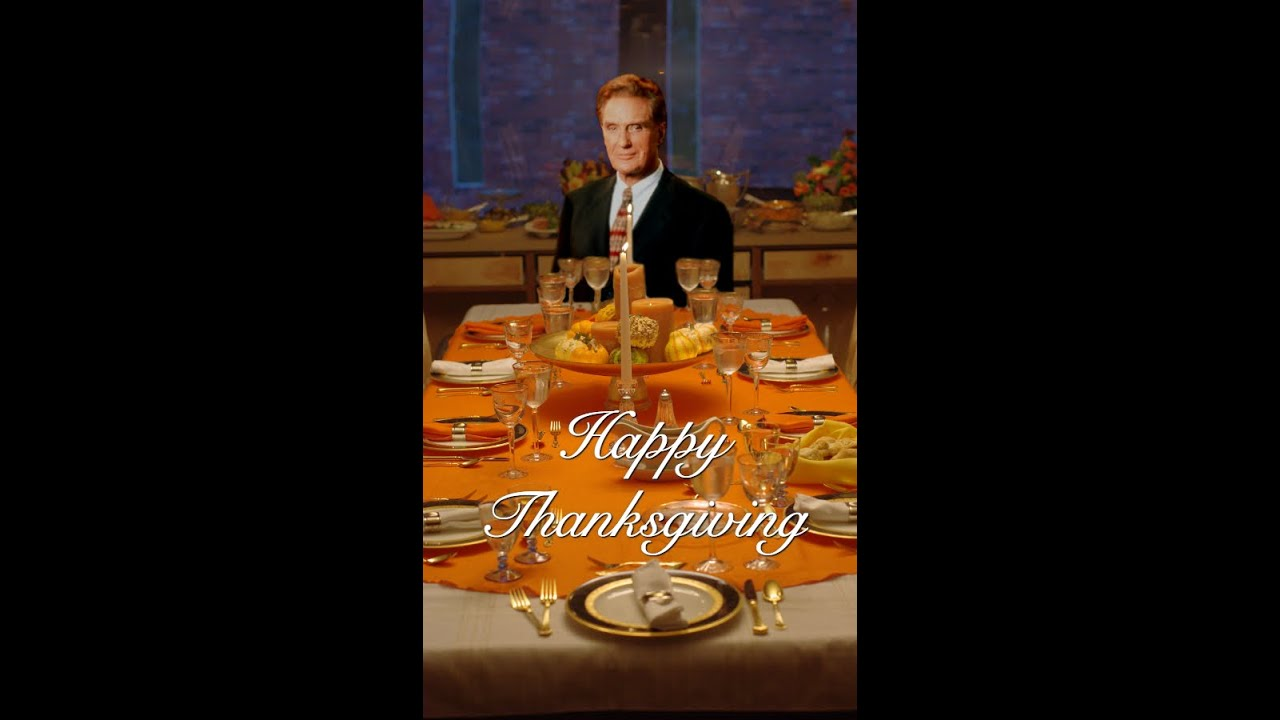 Happy Thanksgiving from Unsolved Mysteries