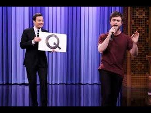Daniel Radcliffe Raps Blackalicious' Alphabet Aerobics