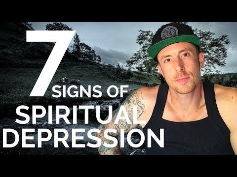 Spiritual Depression - (7 - Signs You're Going Through It)