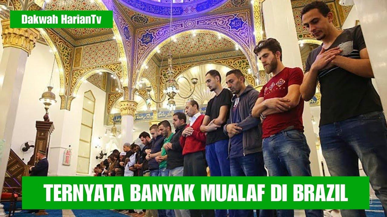 Giliran Di  BRAZIL Banyak warga Masuk Islam