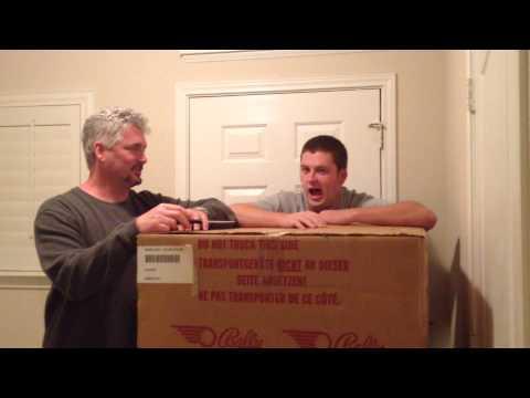 2 of 17 NIB New in box 1996 Elvira Scared Stiff Pinball Machine opened April 5, 2014