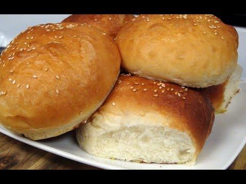 Homemade Brioche Hamburger Buns on the Grill Dome Kamado