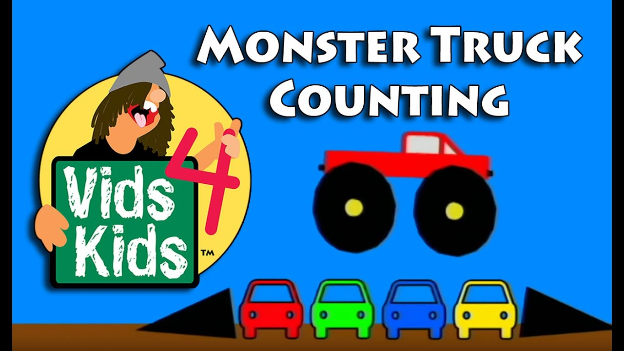 Monster Truck Counting Video For Kids