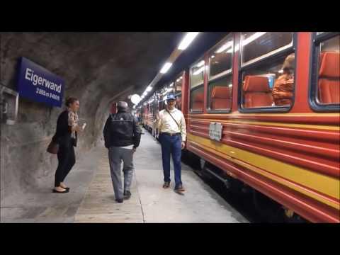 Travel to Jungfrau Station, Switzerland