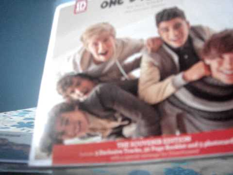 Unboxing One Direction Up All Night The Souvenir Edition With No Disc