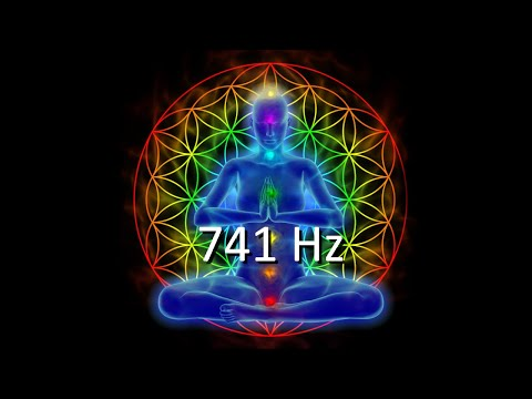 741Hz, Cleanse Infections & Dissolve Toxins, Aura Cleanse, Boost Immune System, Meditation