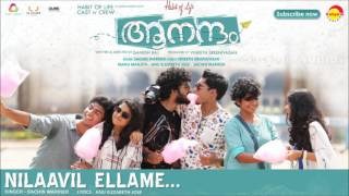 Nilaavil Ellame | Film Aanandam | Music by Sachin Warrier | New Malayalam Songs