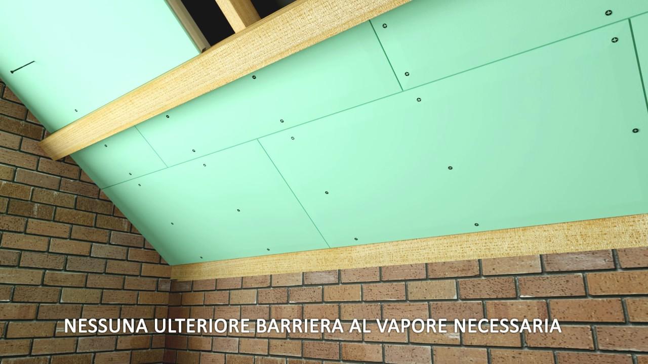 Isolamento interno di pareti e tetti renotherm unilin