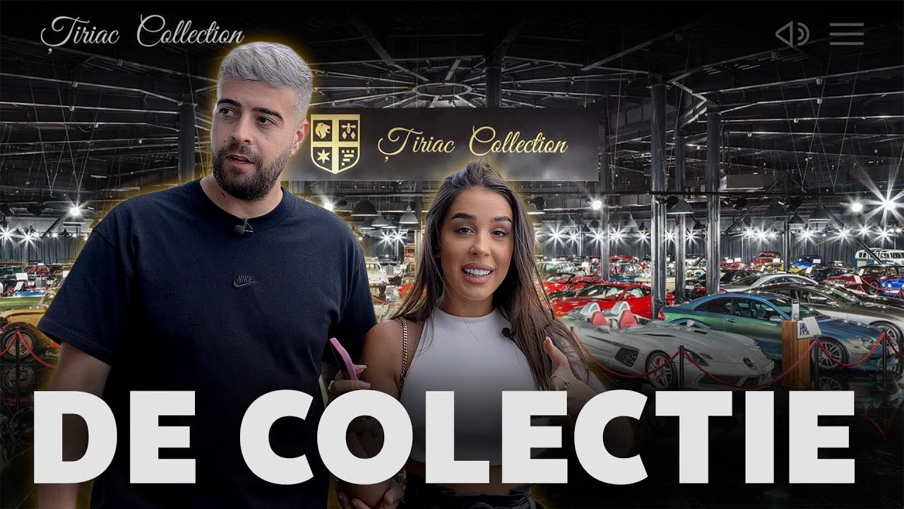 COLECTIE IMPRESIONANTA de masini - Tiriac Collection